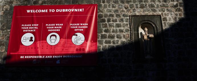 Dubrovnik in 2020