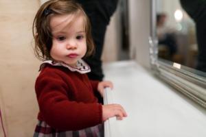 dreamy little girl portrait